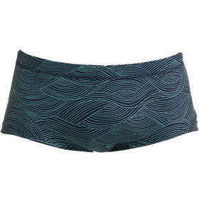 Funky Trunks Plain Front Trunks Men, ripples